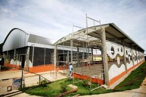Feira do Urciano está em fase final de construção