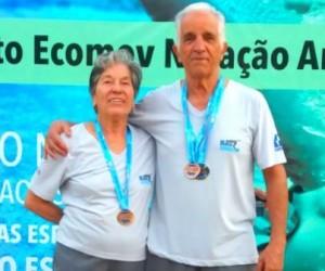 Araxá é destaque no Campeonato Brasileiro Master de Natação