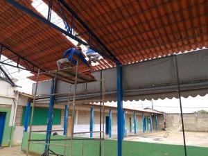 Obras nas escolas municipais de Araxá estão adiantadas