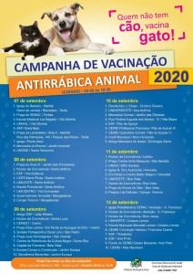 Vacinação antirrábica – quem não tem cão, vacina gato